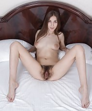 Long pubes on lovely girl