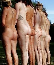 Swimming pool lesbian orgy