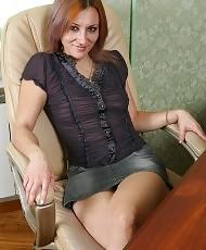 Sexy girl riding a dildo